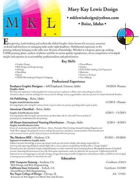 mary kay lewis design graphic and web design